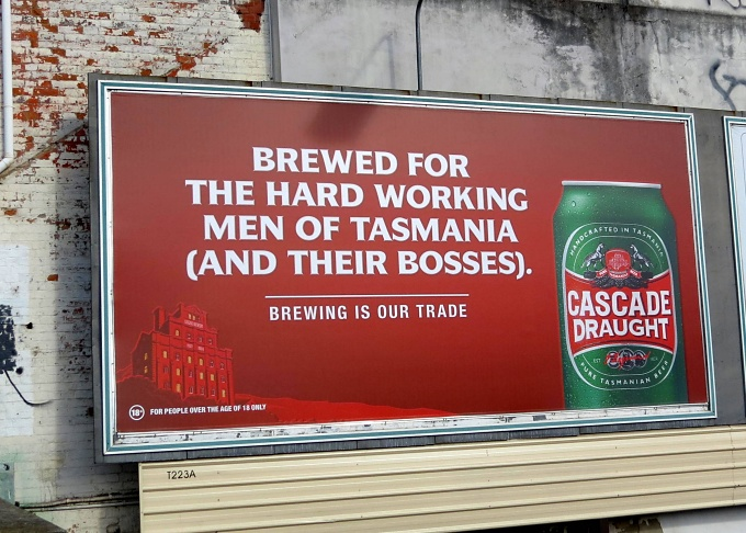 cascade beer hobart