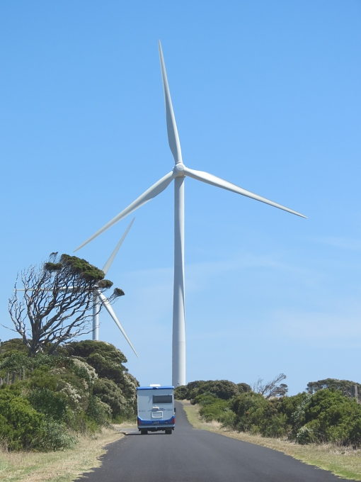 discovery coast wind turbine