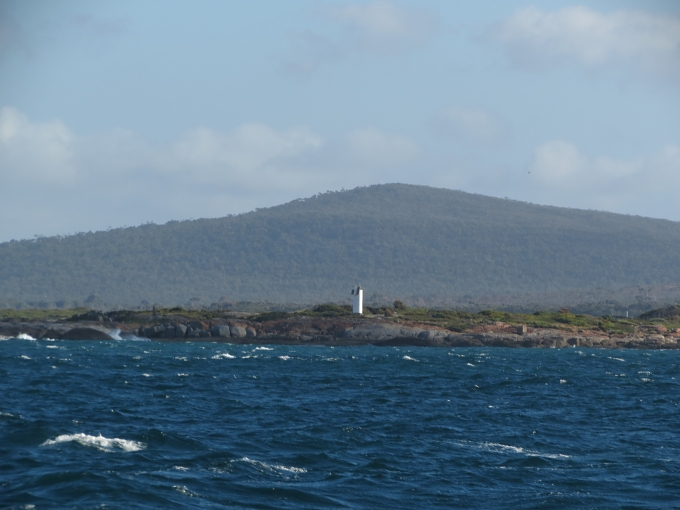 furneaux group islands sisters passage lighthouse on flinders