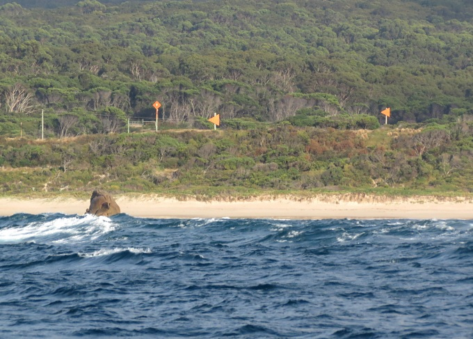 king island to portland victoria range markers