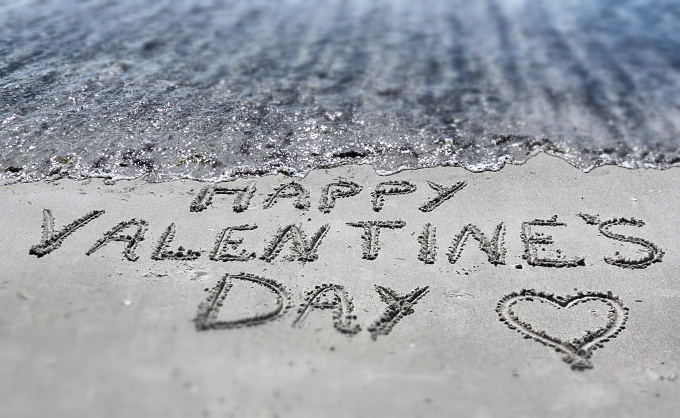sand valentine