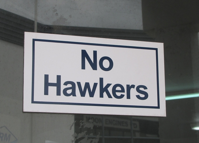NOsigns_no hawkers_new zealand