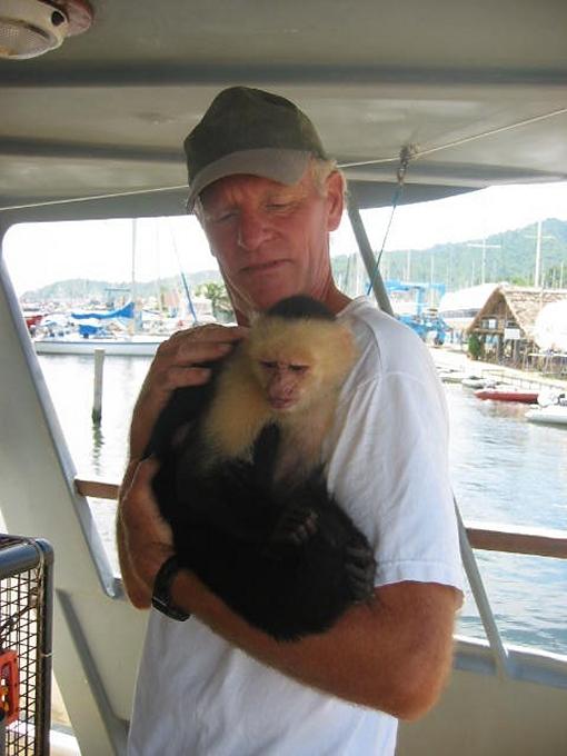 calvin the capuchin