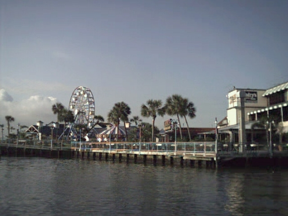 leaving Kemah, Texas