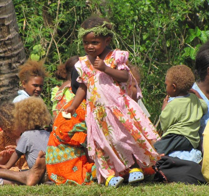dressing up in vanuatu