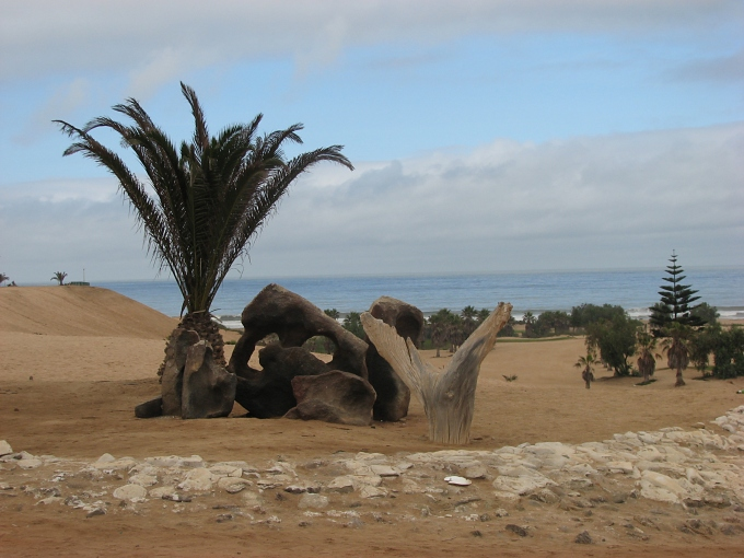 desert meets ocean