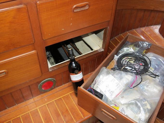 berth wine cellar
