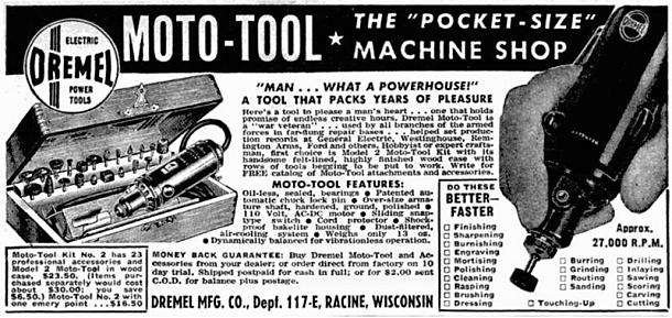 Dremel Tool Ad