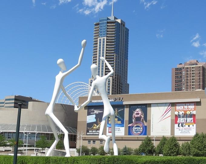 dancing sculpture in denver