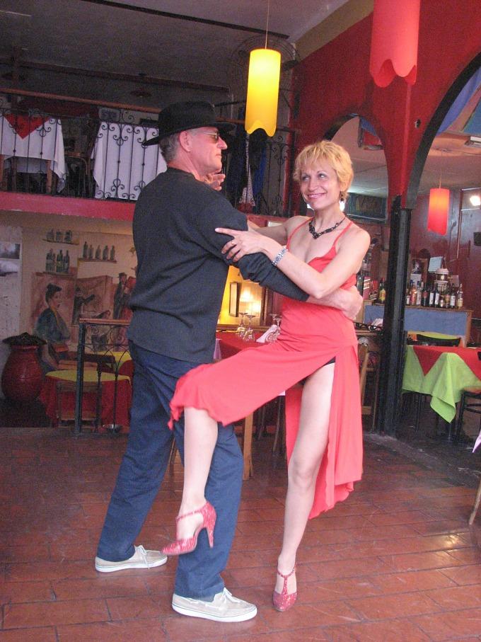 david dancing tango