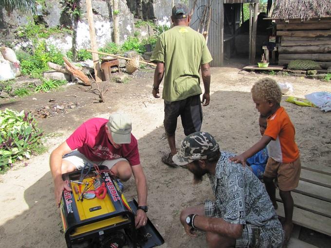 fixing a generator