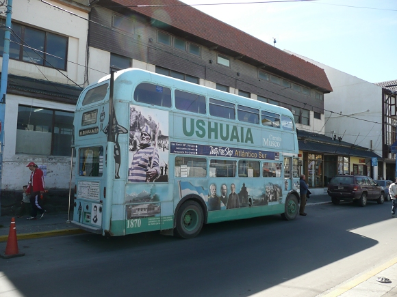 ushuaia tour bus