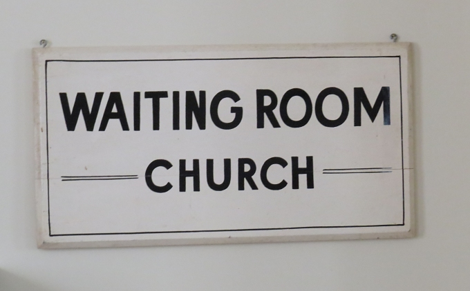 waiting room church