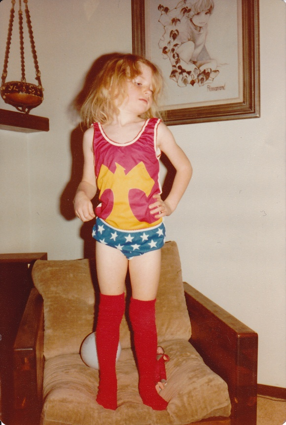 casey as wonderwoman