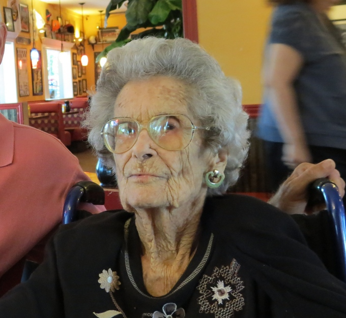 aunt edna at 107 years