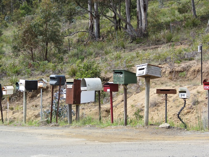 maelstrom of mailboxes