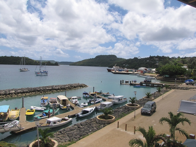 neiafu harbor side