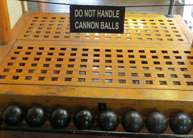 do not handle cannonballs
