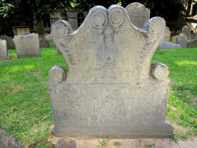 joseph tapping gravestone