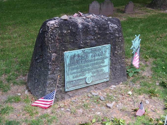 sam adam's grave