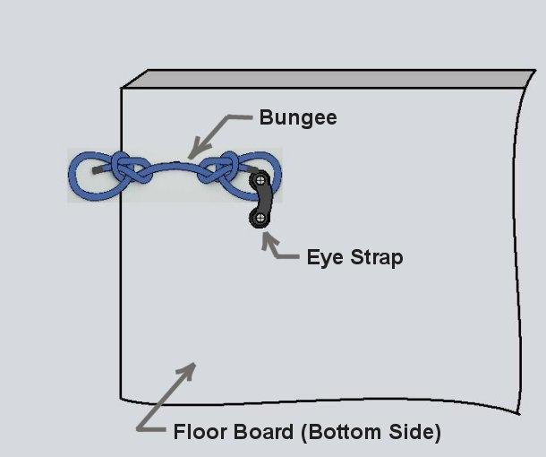 floor anchor bungee