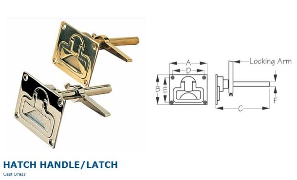 floor anchor latch