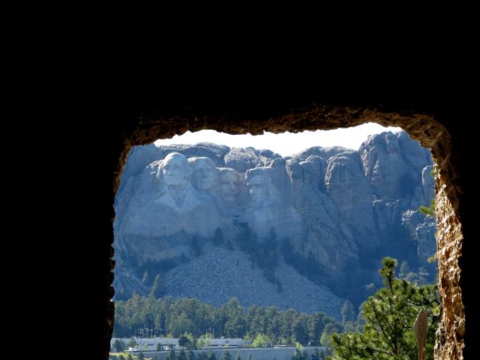 custer state park tunnel, south dakota