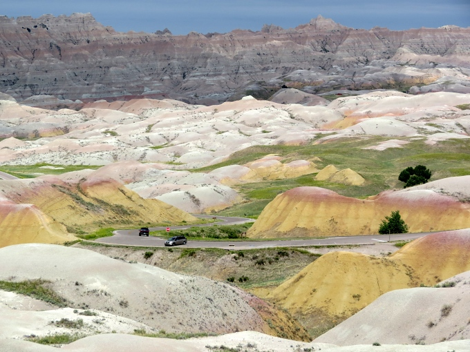 badlands national park loop, south dakota