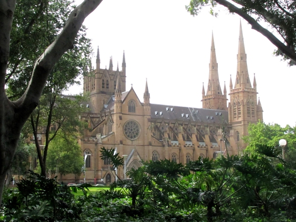 st. mary's cathedral in sydney, australia