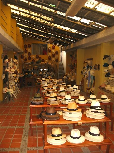 panama hats in cuenca ecuador