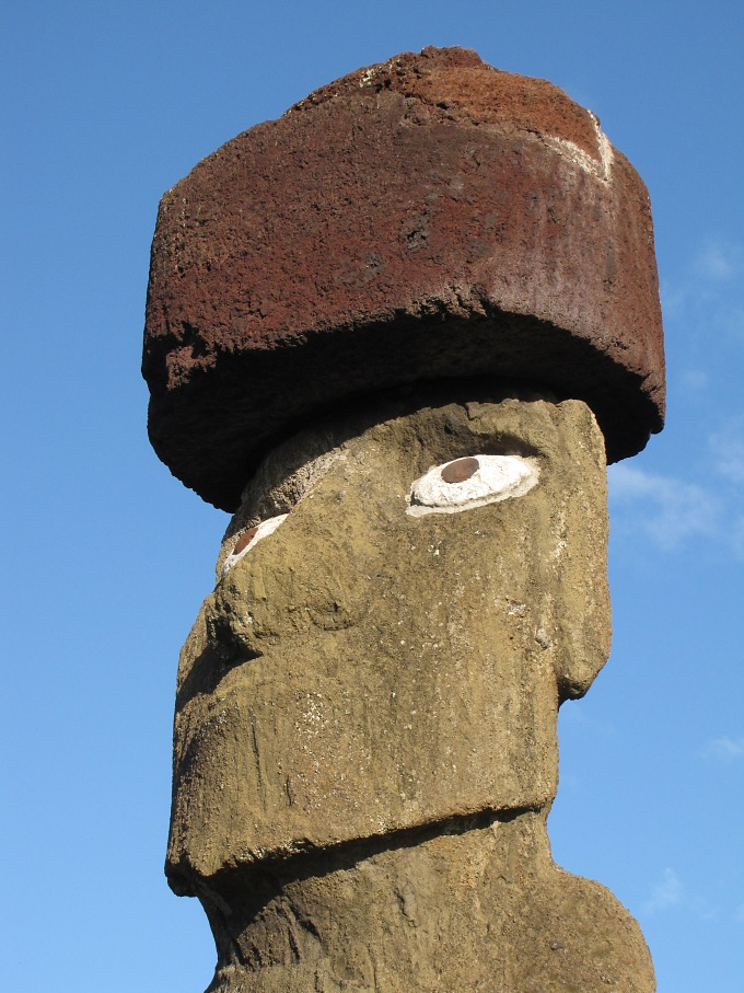 big eyed moai