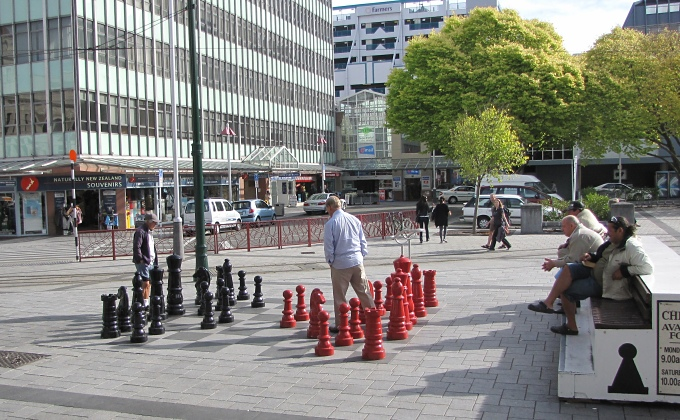 big chess set
