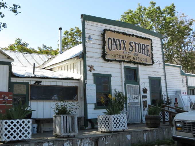 onyx general store in california
