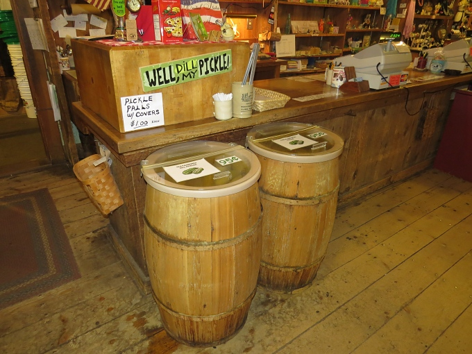 pickle barrels