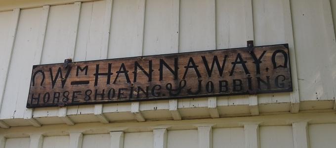 hannaway sign