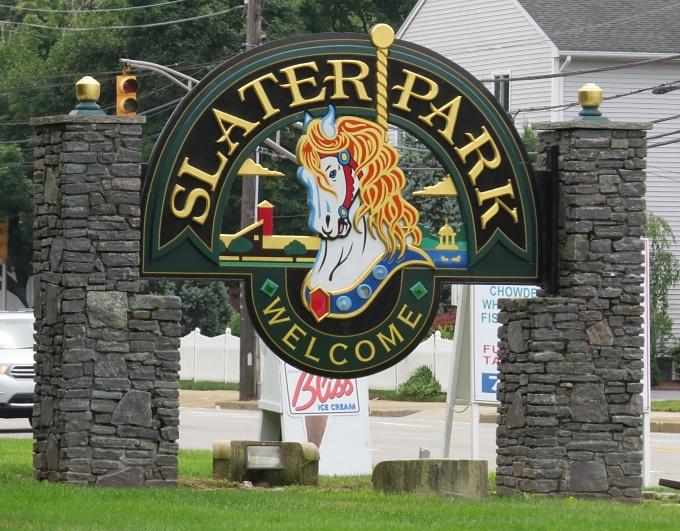 slater park sign