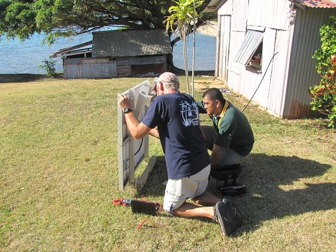 fixing solar panels