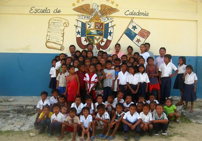 san blas island school picture