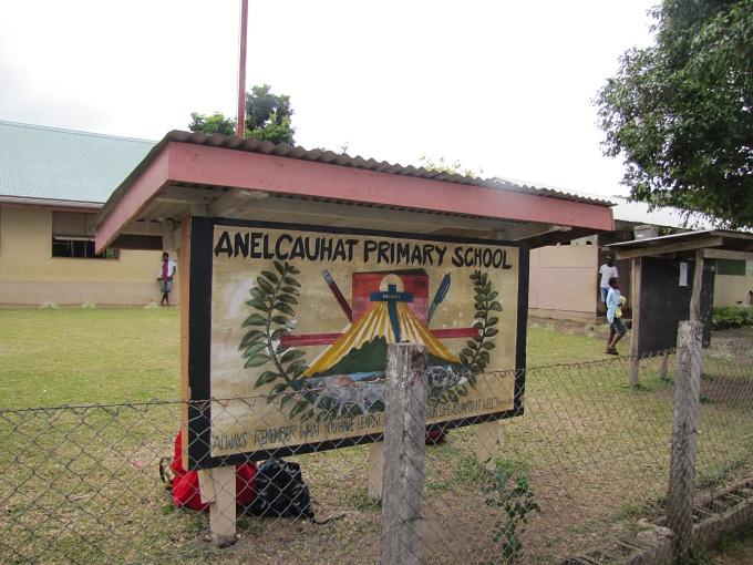 vanuatu school sign