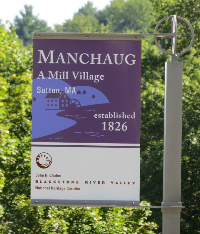 manchaug mill village