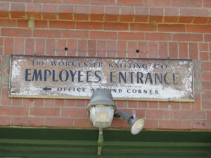 worcester knitting mill employee entrance