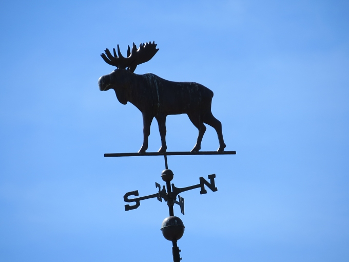 moose hill weathervane