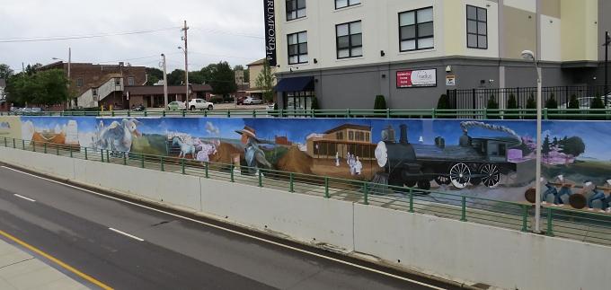 mural view
