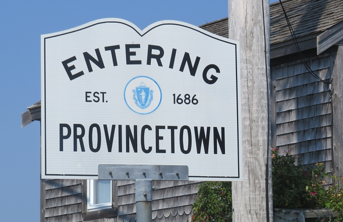 entering ptown