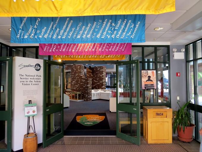salem visitor's center