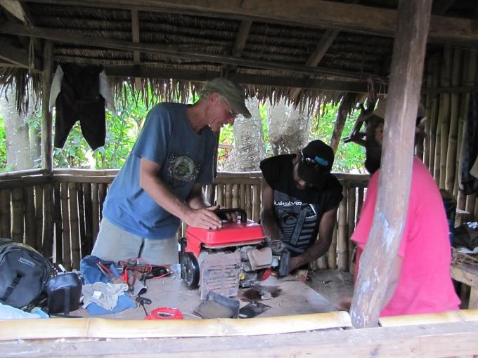 fixing generatros in vanuatu