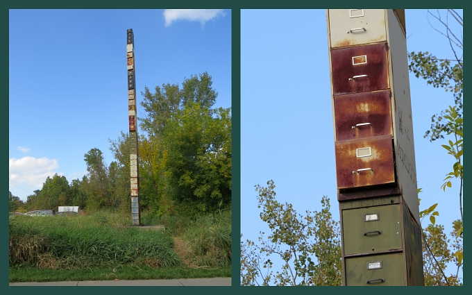 worlds tallest file cabinet
