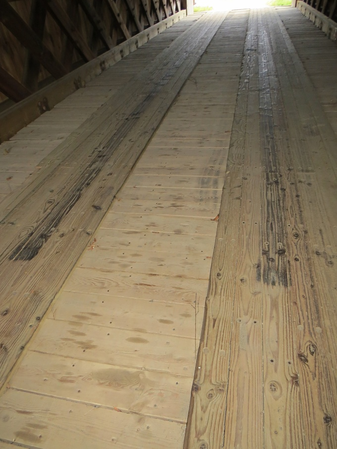 covered bridge planks