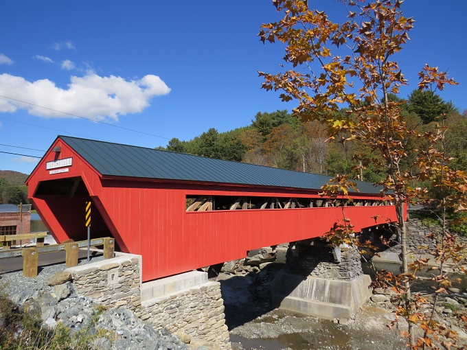 taftsville bridge in woodstock