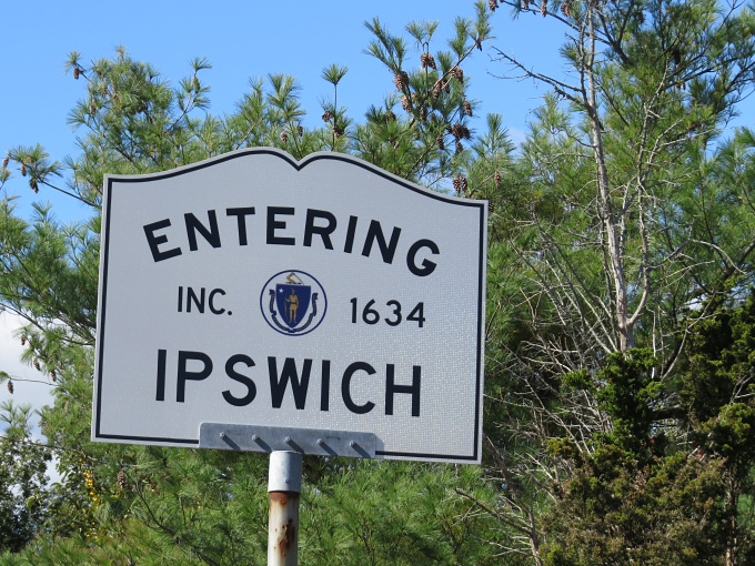 entering ipswich